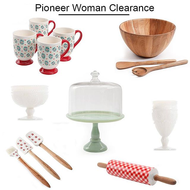 Fabulous Pioneer Woman Clearance Walmart Finds Home Interior And Landscaping Ologienasavecom
