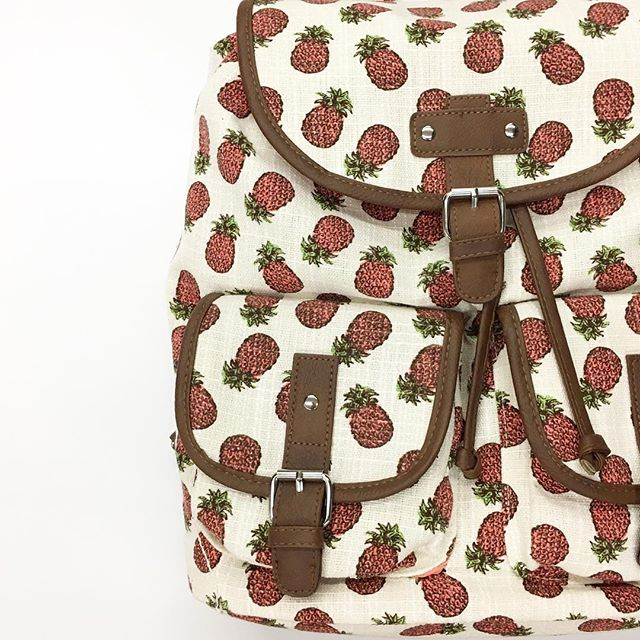 No Boundaries Pineapple Backpack - Walmart Finds