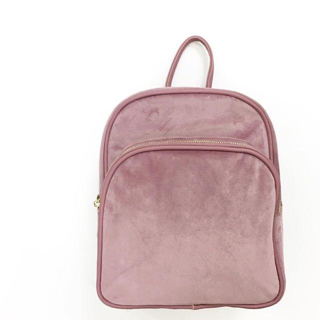 8e9c09341c95 No Boundaries Velvet Mini Backpack - Walmart Finds