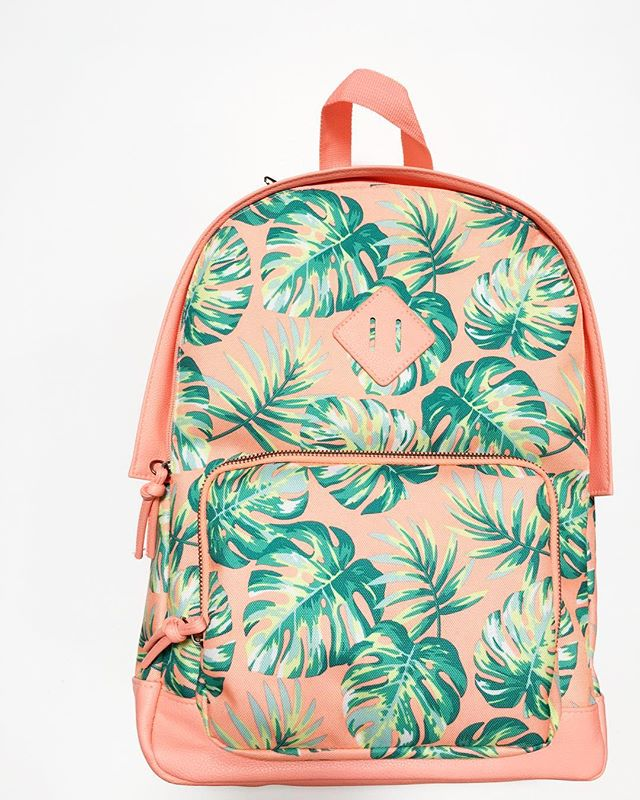 No Boundaries Tropical Leaves Backpack - Walmart Finds