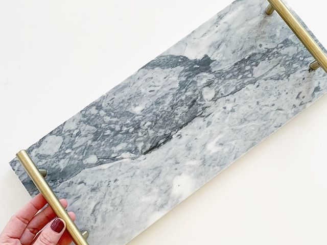 Better Homes and Gardens Marble Tray