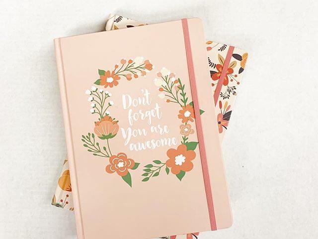 Pen + Gear Floral Hardcover Journal