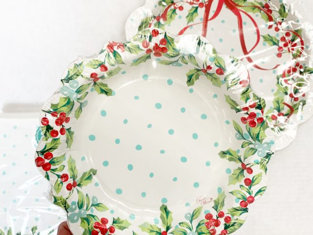 The Pioneer Woman Christmas Inspired Paper Plates
