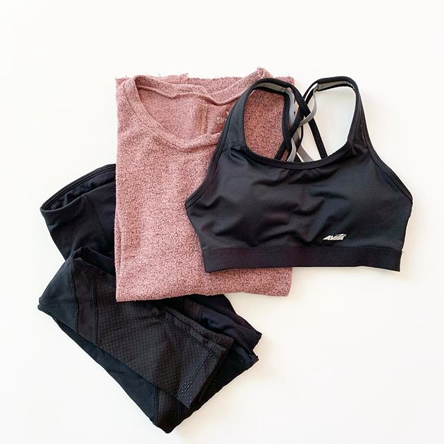 27bcc1b20661d Kickstart your resolution to work out more with some new activewear! These  mesh insert leggings are my fave and right now they re on clearance online  for ...