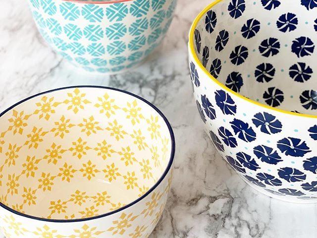 Mainstays Ceramic Mixing Bowls