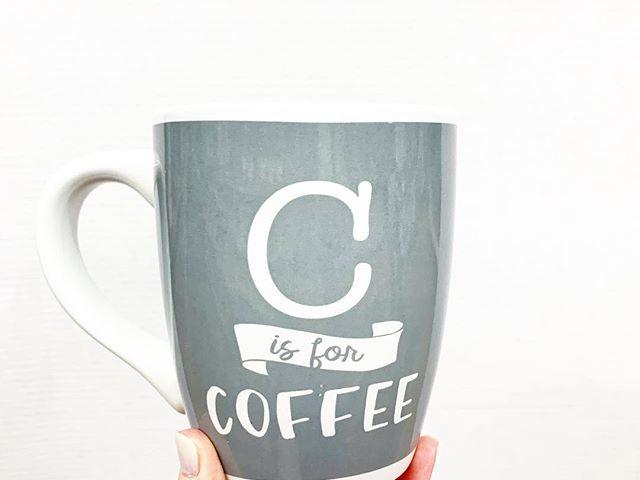 """""""C is for Coffee"""" Mug"""
