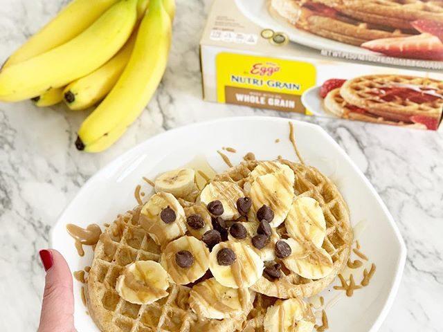 Kellogg's Eggo Nutri-Grain Whole Grain Waffles