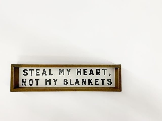 Way To Celebrate Steal My Heart Wooden Sign