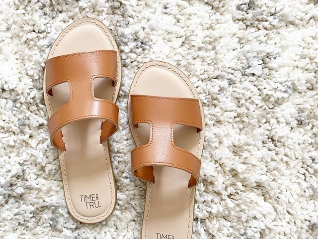 Time and Tru H Band Sandal