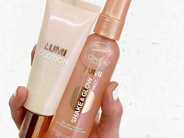 L'Oreal True Match Glow Dew Mist and Gloltion Highlighter