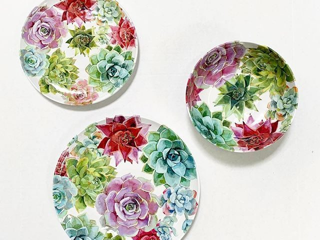 Better Homes and Gardens Melamine Succulent Tableware