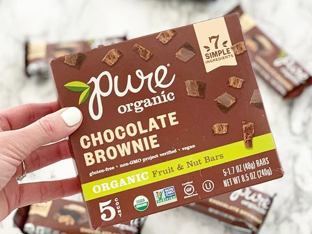 Pure Organic Fruit & Nut Bars