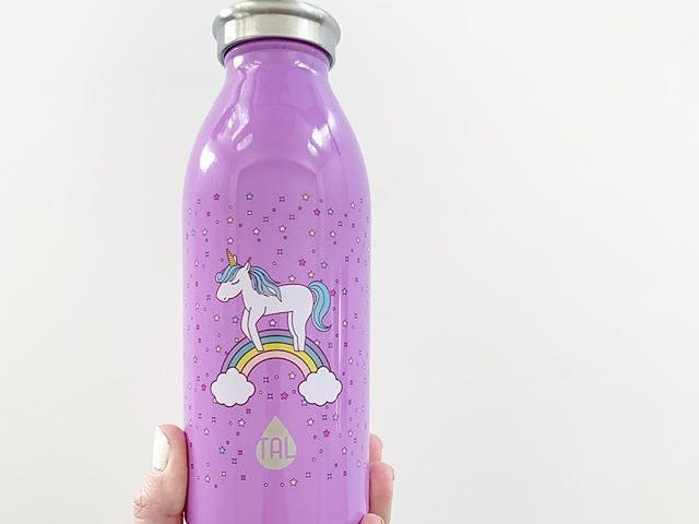 Tal Stainless Steel Insulated Unicorn Water Bottle