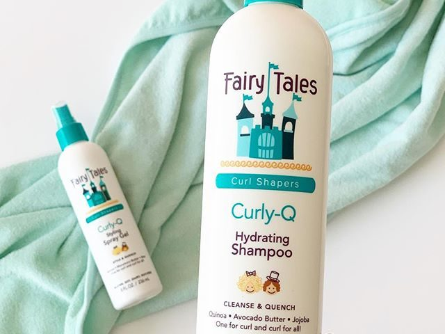 Fairy Tales Hair Care Curly-Q  Shampoo and Styling Gel