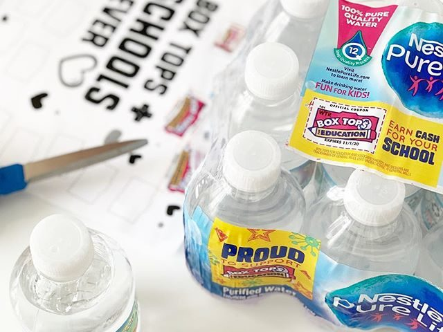 Nestle Water and Box Tops for Education