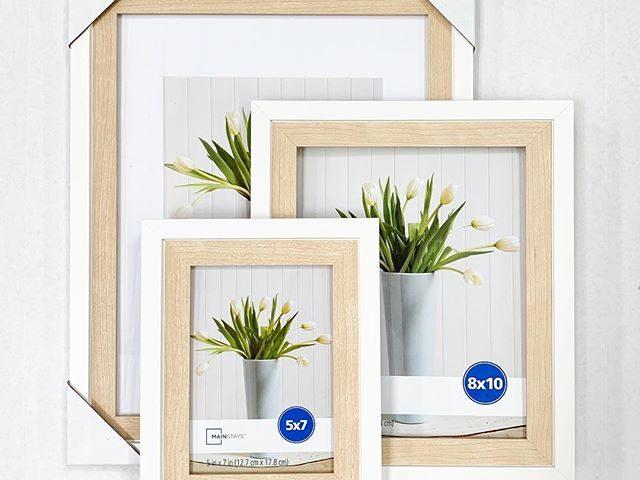Mainstays 2-Tone Wood Photo Frames