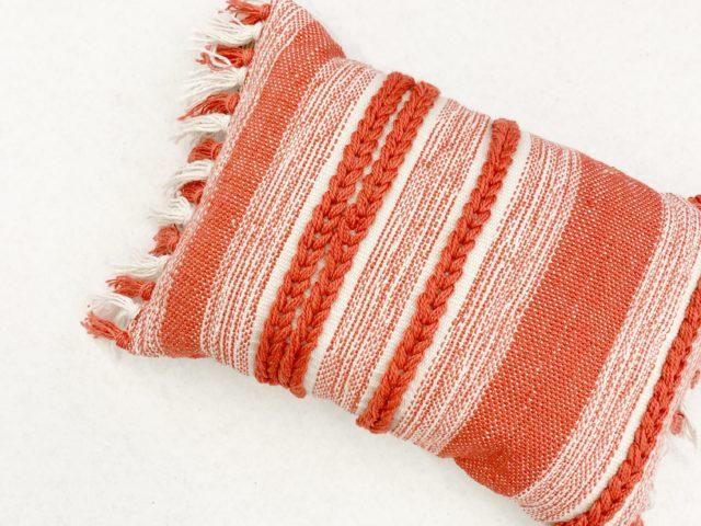 Better Homes & Gardens Coral Woven Pillow