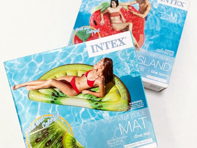 Intex Kiwi and Strawberry Inflatables
