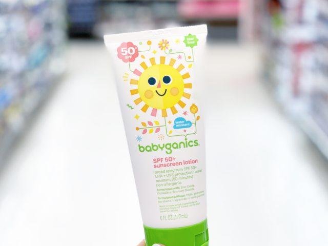 Babyganics SPF 50+ Mineral-Based Baby Sunscreen