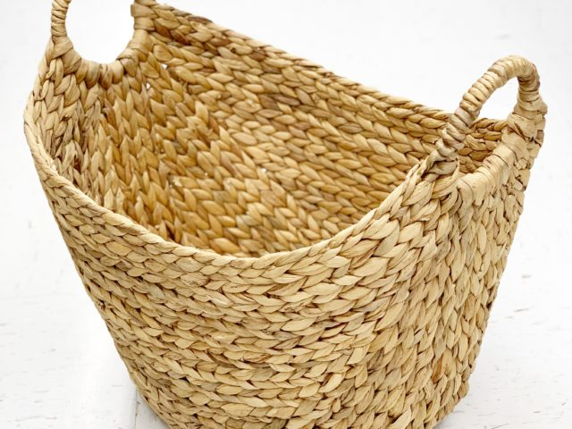 Better Homes & Gardens Large Water Hyacinth Basket