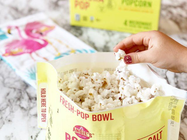 Angie's BOOMCHICKAPOP Microwave Sea Salt Popcorn