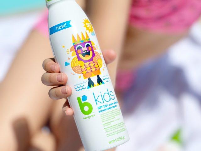 Babyganics bKids SPF 50+ Spray Sunscreen