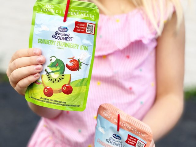 Ocean Spray Growing Goodness Juice Pouches