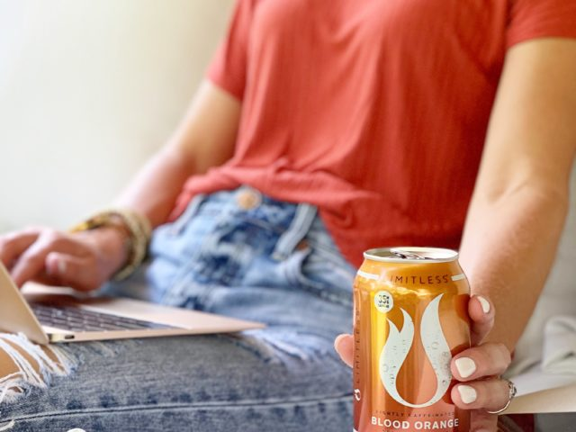 LIMITLESS Lightly Caffeinated Sparkling Water and Ibotta Offer