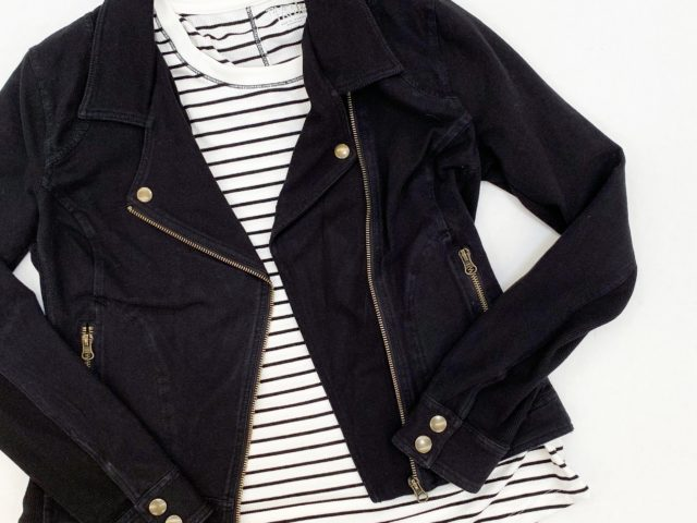 Time and Tru Moto Jacket