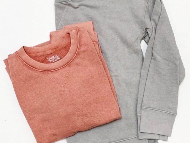 Time and Tru Crewneck Sweatshirt