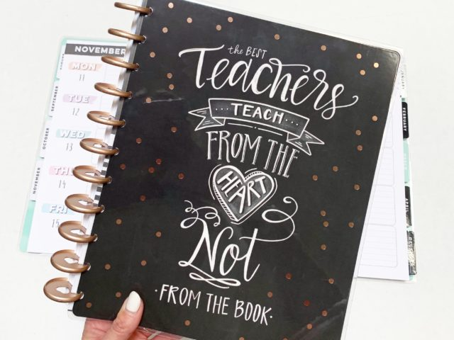 The Happy Planner Big Teacher Planner
