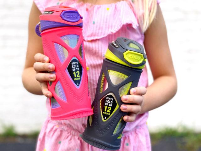 Zulu Echo Stainless Steel Kids Water Bottle Instagram Giveaway