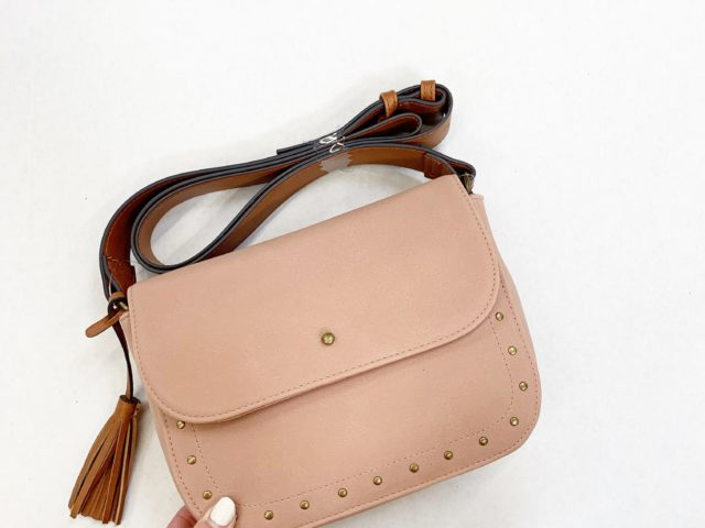 Time and Tru Saddle Crossbody