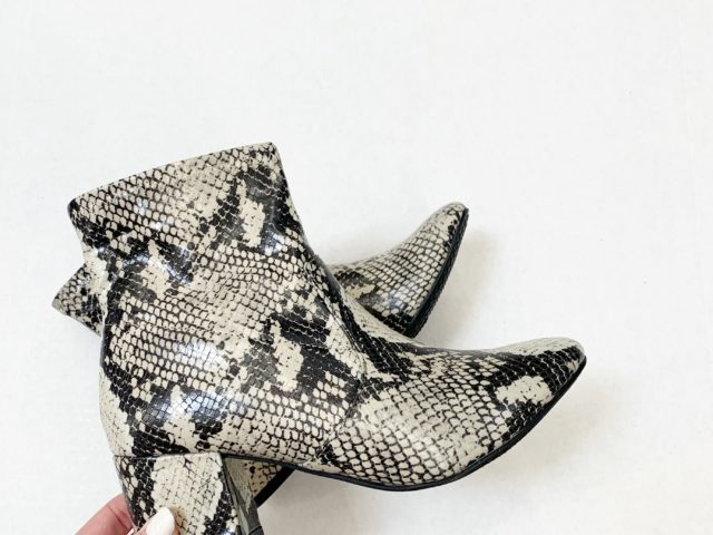 Time and Tru Snake Print Boot