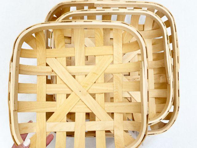 Harvest Square Tobacco Baskets