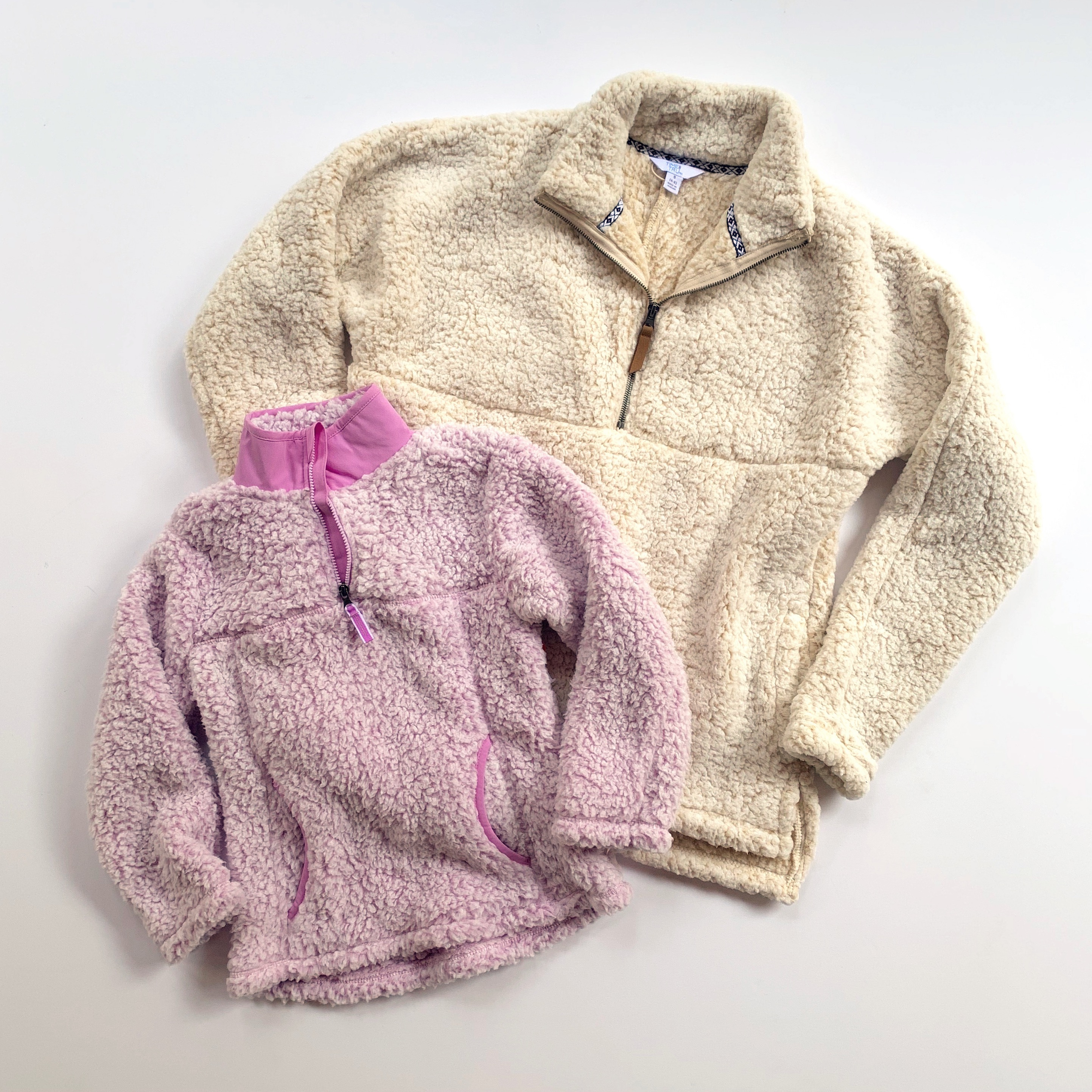 sherpa pullovers for mommy and me
