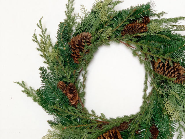 Holiday Time 24″ Spring Pine Wreath
