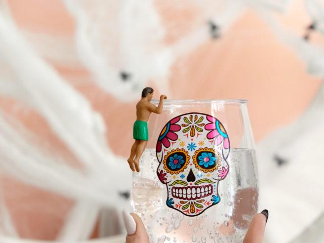 NPW Hunks in Trunks Halloween Drink Marker
