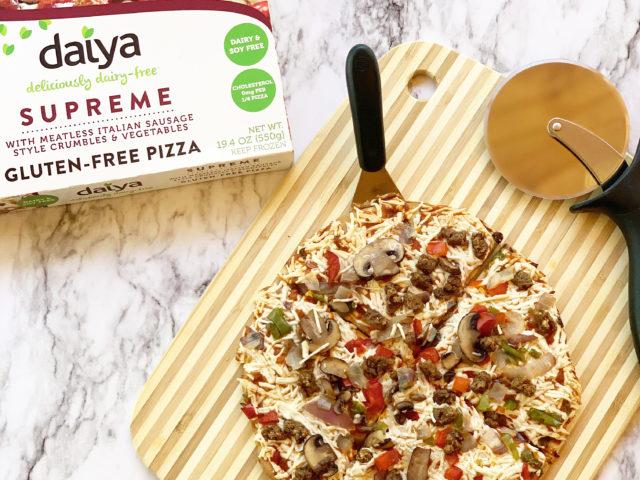 National Pizza Month – Daiya Dairy-Free Pizzas