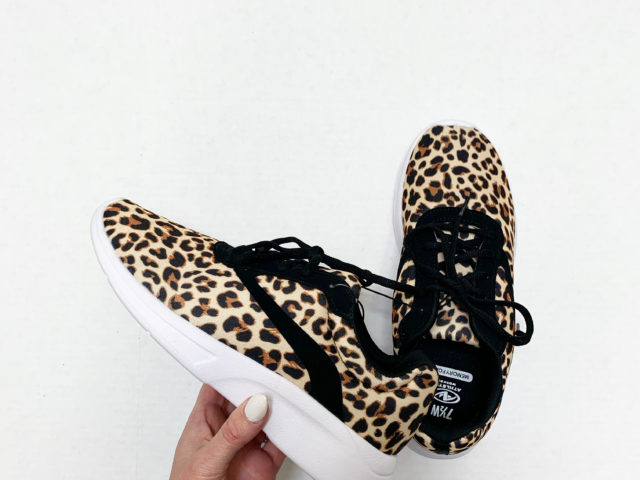 Athletic Works Leopard Print Mesh Trainer
