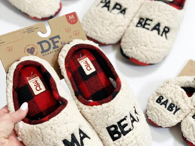 Dearfoams Bear Slippers