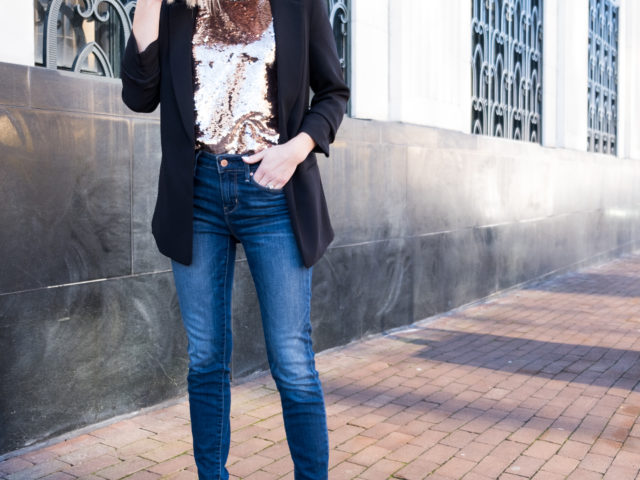 NYE Look with Signature by Levi Strauss & Co.