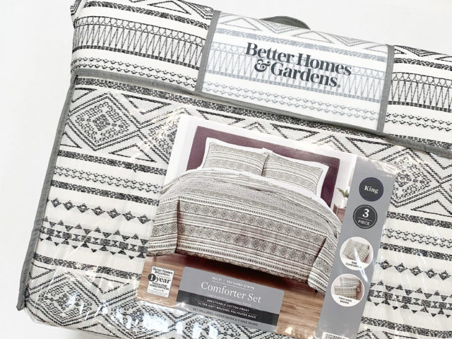 Better Homes & Gardens 3-Piece Textured Stripe Comforter Set