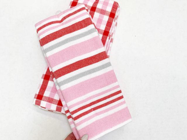 Way To Celebrate Valentine's Day Kitchen Towels