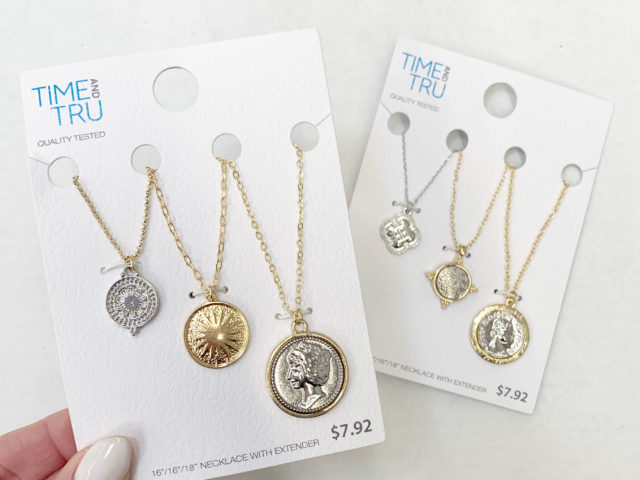 Time and Tru Layered Necklace Sets