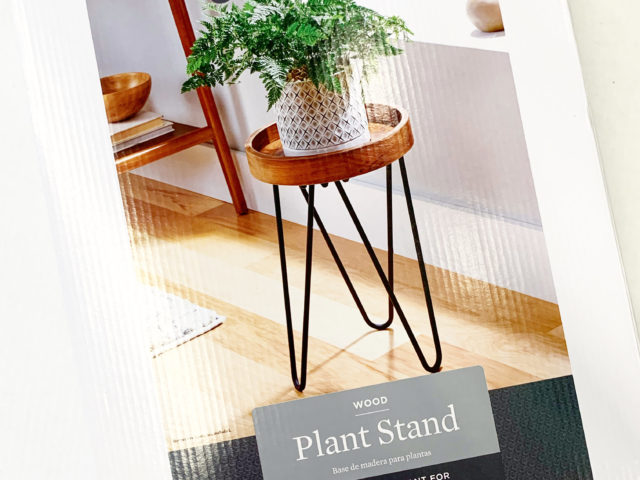 Better Homes & Gardens 18″ Wood Plant Stand