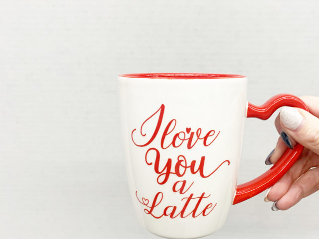 Way To Celebrate Love You A Latte Mug