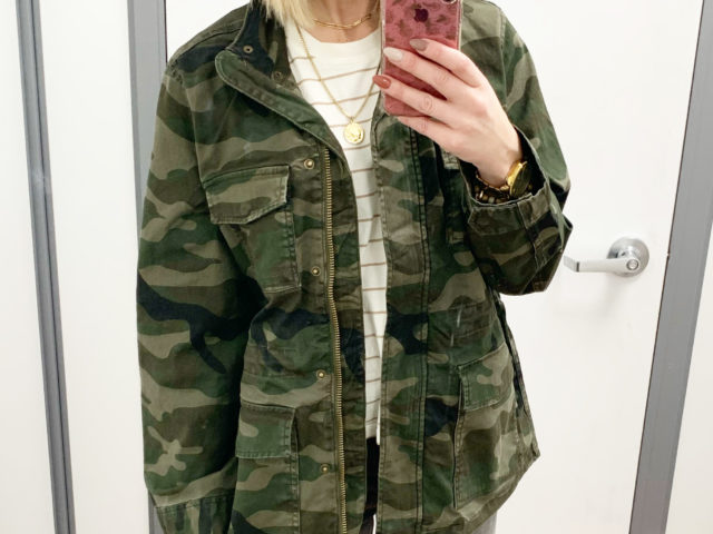 Time and Tru Anorak Jacket